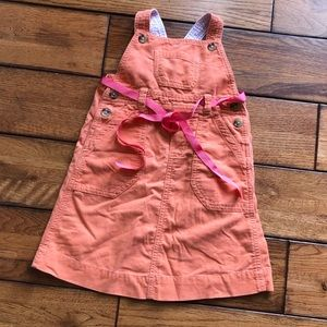 Ralph Lauren corduroy jumper dress size 4